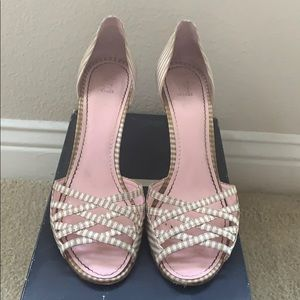 Tommy Hilfiger striped sandals - Size 8